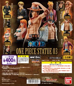 From TV animation ONE PIECE ONE PIECE STATUE 03