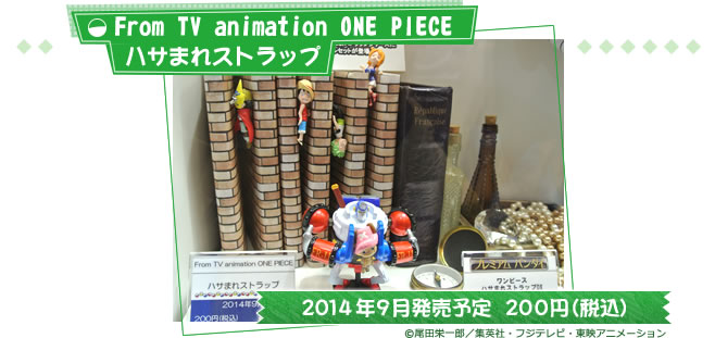 From TV animation ONE PIECE ハサまれストラップ