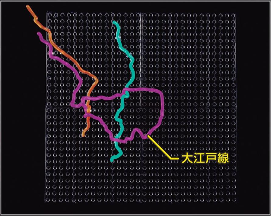大 江戸 線 路線 図